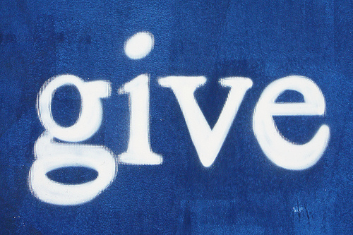 give without guilt