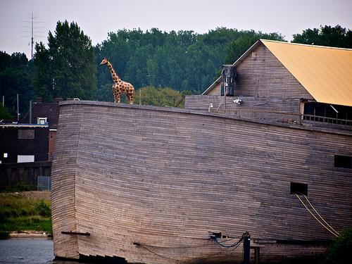 giraffe elephant Noahs Ark